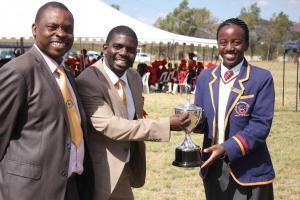 MCHS Vice Principal Mr Mafara and the District Officer